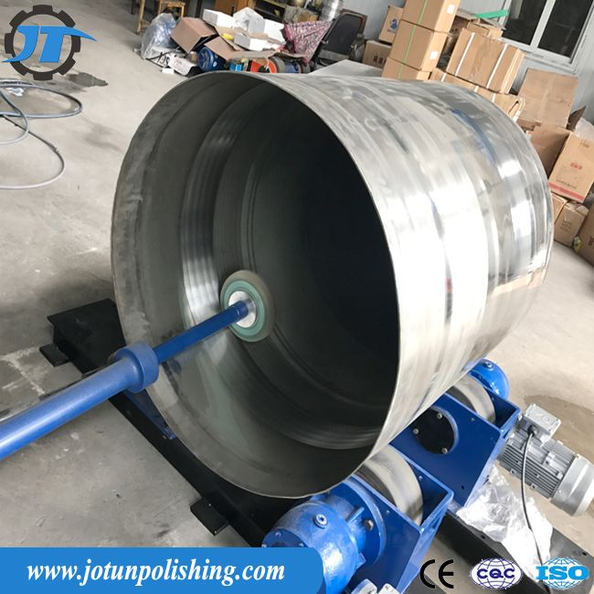 Steel Tank Vessel Inner Surface Automatic Polishing Machine With Buffing Grinding Wheels Automatic Grinding Machine Inner S Grinding Machine Vessel Grind
