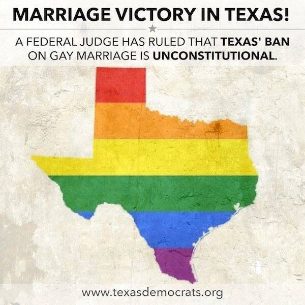 Gay marriage in texas
