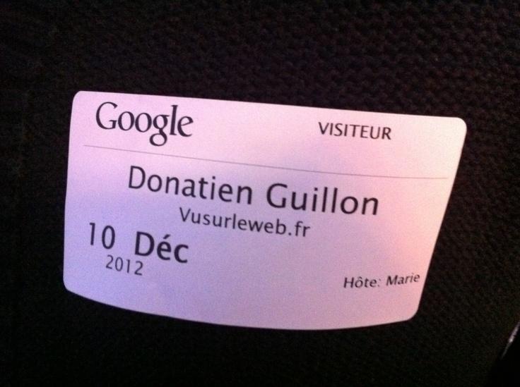 vusurleweb.fr chez Google #presse