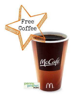 You can get a FREE Small Coffee at McDonalds -- every day for 2 weeks!  #free  #coffee