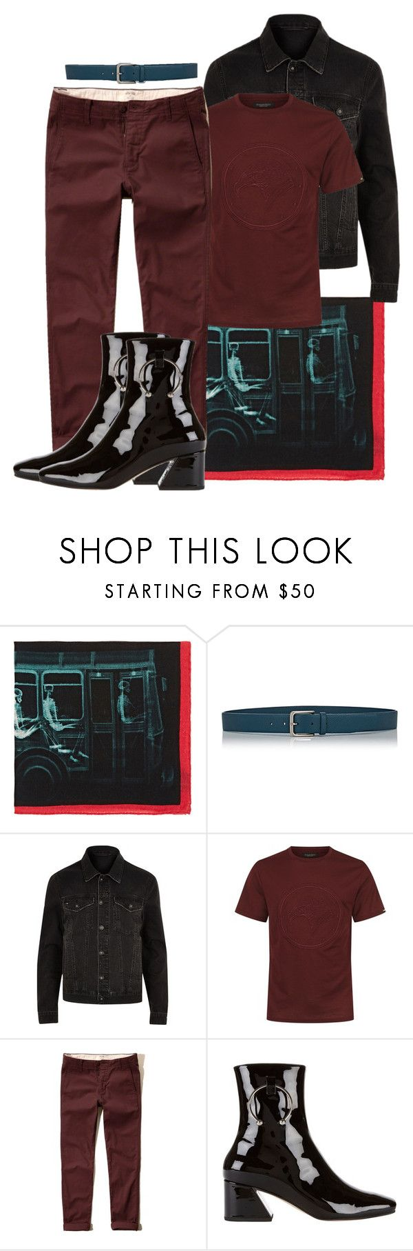 """// HEELS // MAN"" by consuelor ❤ liked on Polyvore featuring Barneys New York, River Island, Stefano Ricci, Hollister Co., Dorateymur, men's fashion and menswear"