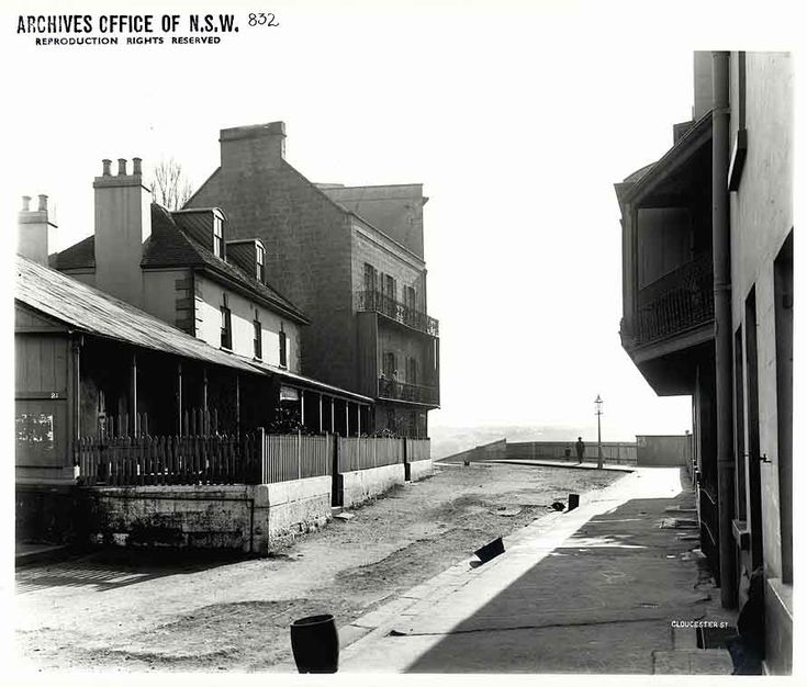 Caption: Gloucester Street [number 21], The Rocks (NSW) [Rocks Resumption photographic survey] Digital ID: 4481_a026_000030.jpg Date: 16/08/1901 Format: Black and white photograph