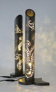 Bricoline et Bambou, Lampes d'ambiance en bambou