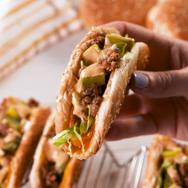 Tacos al cheeseburger