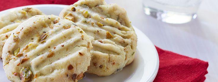 Pistachio Shortbread | Recipes