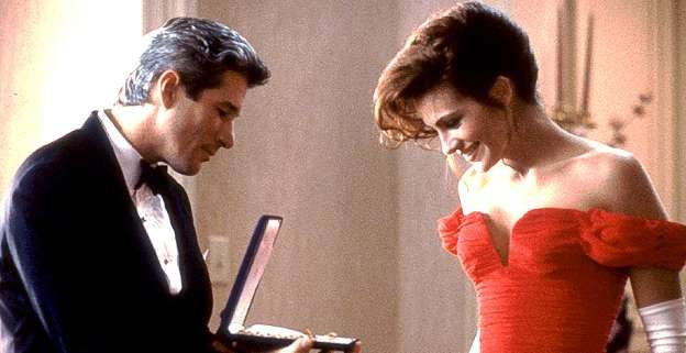 "This unforgettable scene with Julia Roberts and Richard Gere in ""Pretty Woman"" still gives us butter... - Touchstone Pictures"