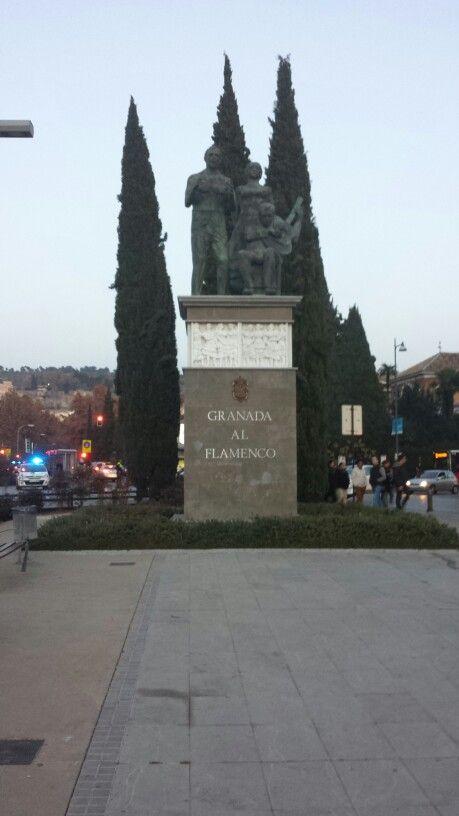 Flamenco's monument.