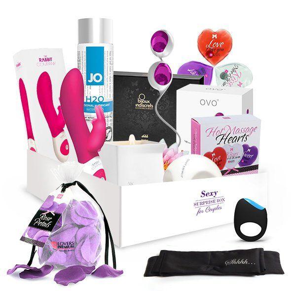 Die Surprise Sex Box für Paare ist ideal um aufregende Momente zu zweit zu geniessen! Das Besondere an dieser Box ist, dass Sie gemeinsam den prickelnden Überraschungseffekt geniessen können was genau Sie erwarten wird... Der Inhalt ist...