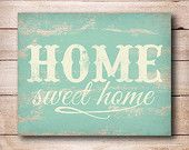 Home Sweet Home Print, Home Sweet Home Sign, rustic home decor, Sweet Home Typography Printable, vintage home sign housewarming gift
