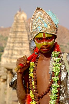 Hanuman in Hampi