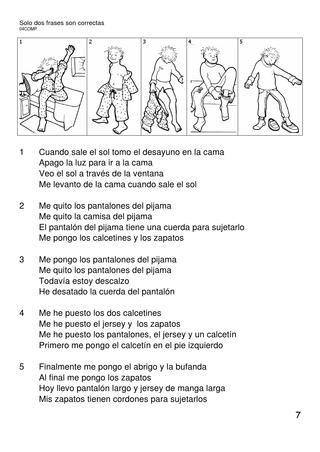 Lecturas comprensivas (VII) 1º de primaria