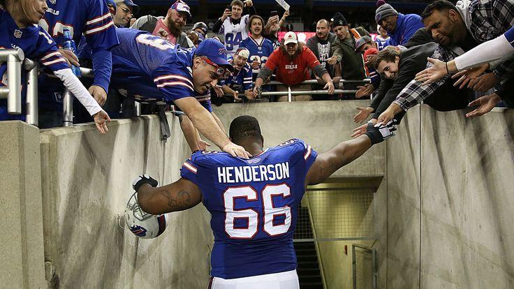 Bills tackle Seantrel Henderson is suspended for using marijuana to combat Crohn's Disease, a debilitating intestinal disorder.