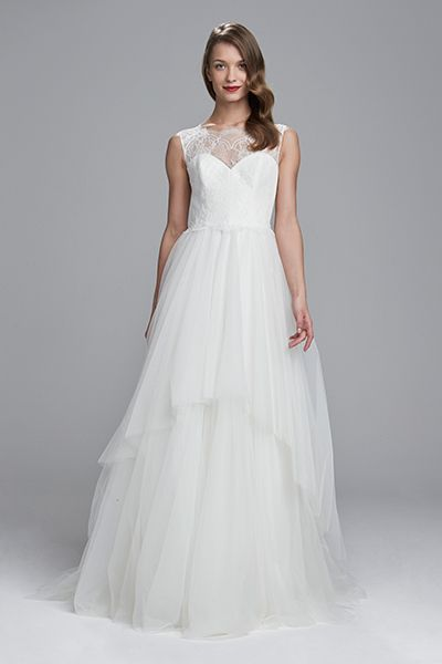 Wedding gown by Nouvelle Amsale.