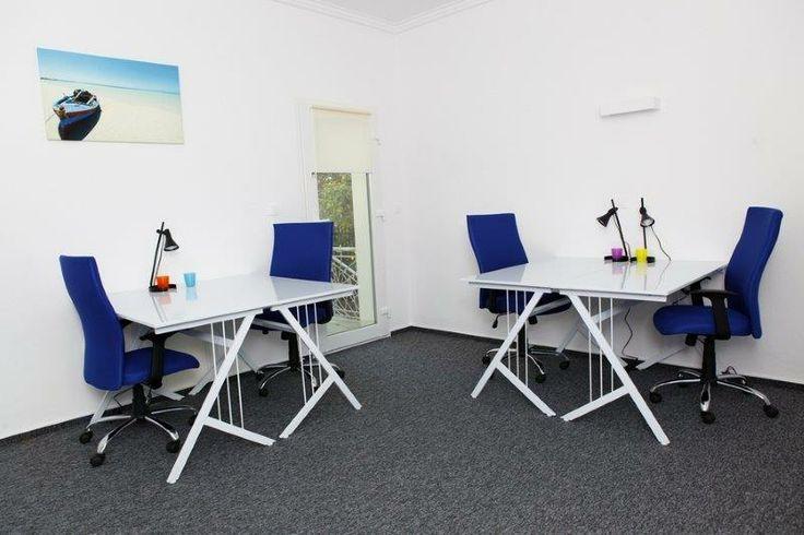 Idealne biurko do pracy! HUB KOLEKTYW #coworking #blue