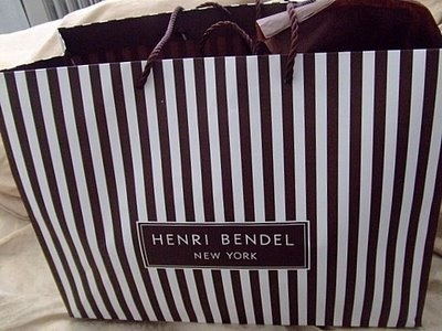 henri bendel. love the shopping bags.