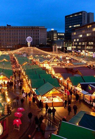 Christmas in Essen, North Rhine-Westphalia, Germany