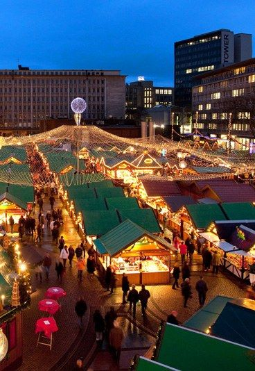 Christmas in Essen, North Rhine-Westphalia, Germany