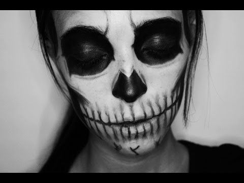 Halloween Makeup: Zombie Boy/Skull (inspiration)