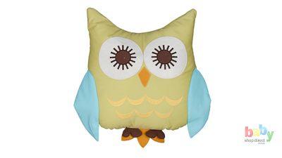 Living Textiles Animal Tree Owl Character Cushion