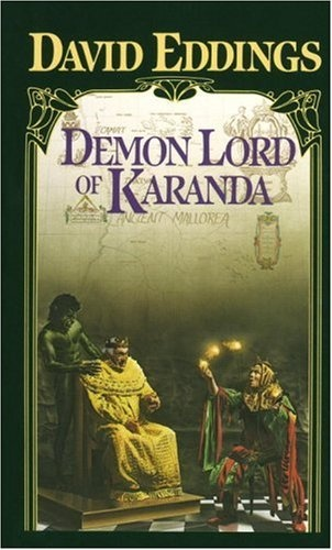 8 best book covers images on pinterest fantasy books science demon lord of karanda the malloreon book 3 by david eddings fandeluxe Gallery