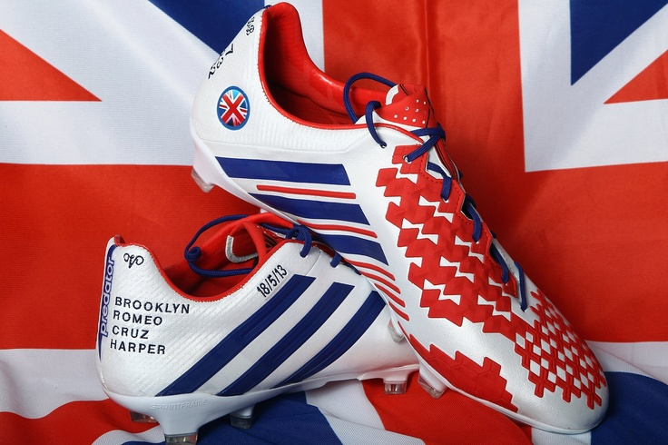 David Beckham boots. These are fab