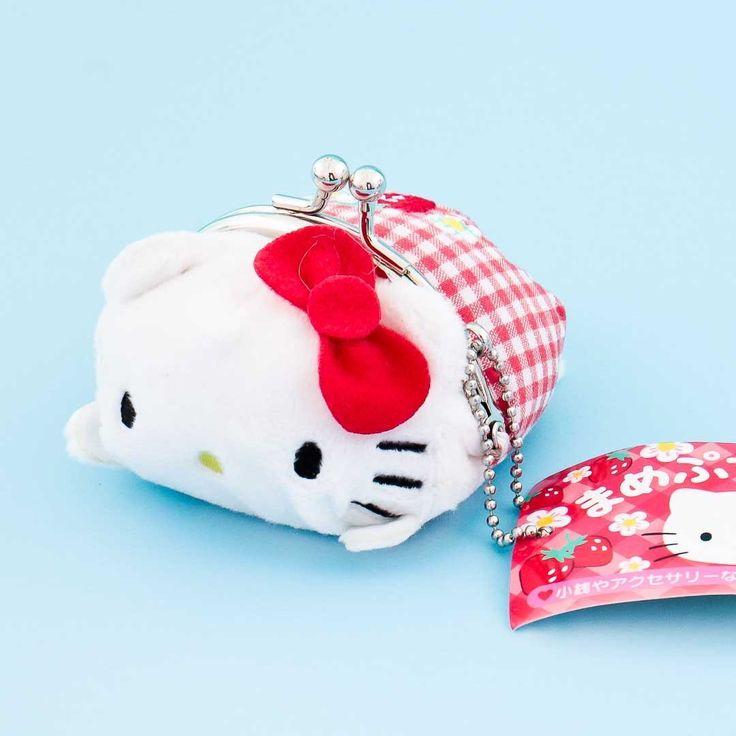 Hello kitty plush coin purse hello kitty plush hello