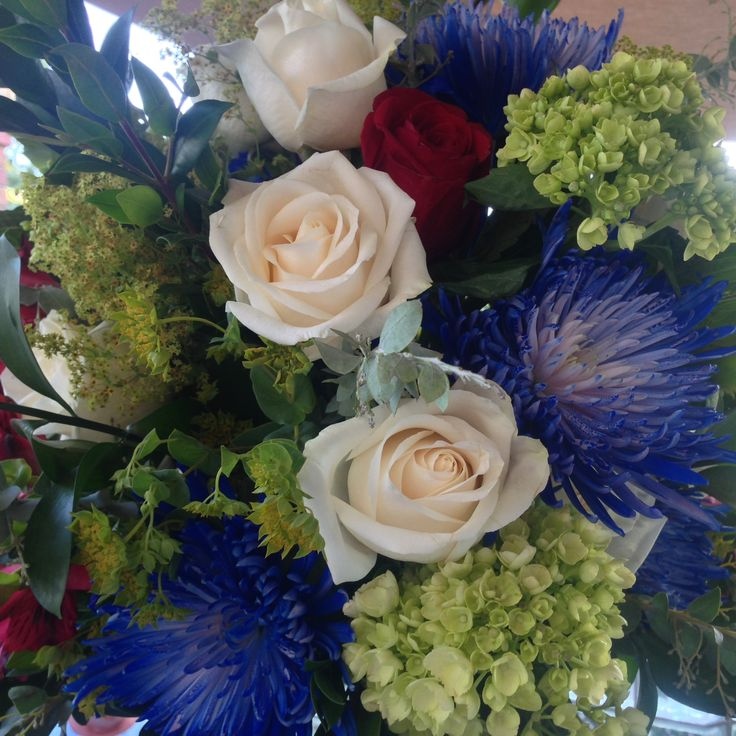 Custom designed floral centrepiece