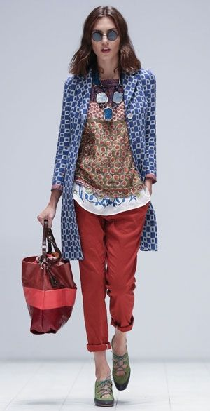 Maliparmi | what to wear | Pinterest | Mixing patterns ...