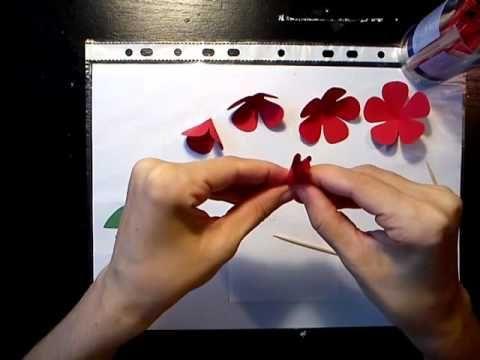 #pirosrózsa7-3##papír##rózsa##tutorial##videó##diy##oktatóvideó##dísz##ajándék##alkotásmánia#