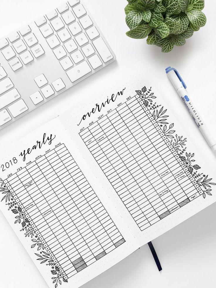 The 25+ best 2018 yearly calendar excel ideas on Pinterest - sample annual calendar