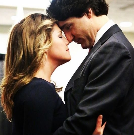 Sophie Gregoire-Trudeau and Prime Minister Justin Trudeau