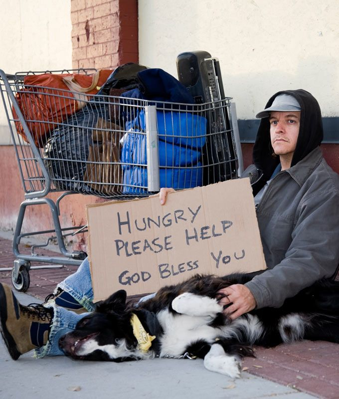 Meals for Homeless Veterans at The Animal Rescue Site