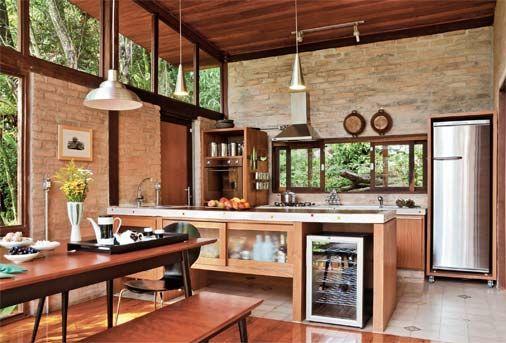 Área Gourmet CURSOS ON LINE - Design de Interiores. Matrículas no site: www.casaecia.arq.br