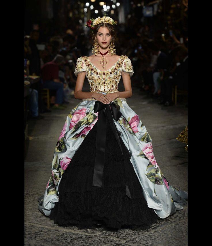 Défilé Dolce & Gabbana Alta Moda Haute Couture automne-hiver 2016-2017 55