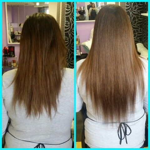amazing how hair extensions fits to any hair!!!im so in love with it!