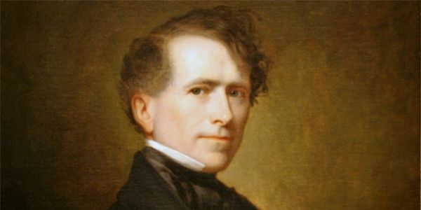The Presidents Ranked in Order of Hotness -  Pierce and Polk look (and sound) like they should have been rival poets