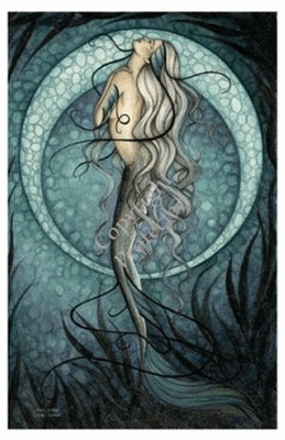 ..love those mermaids....Fantasy, Mermaid Room, Fairies, Mermaid Art, Mermaid Tattoo, Sea, Mystic Mermaid, Stained Glasses, Mermaidsjessica Galbreth