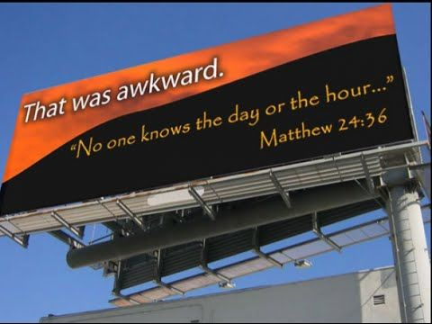 No One Knows the Day or the Hour (Matthew 24:36-44) #DDD DaleStringer