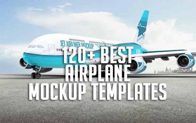 120 Best Airplane Mockup Templates Mockup Templates Mockup Template Free Mockup