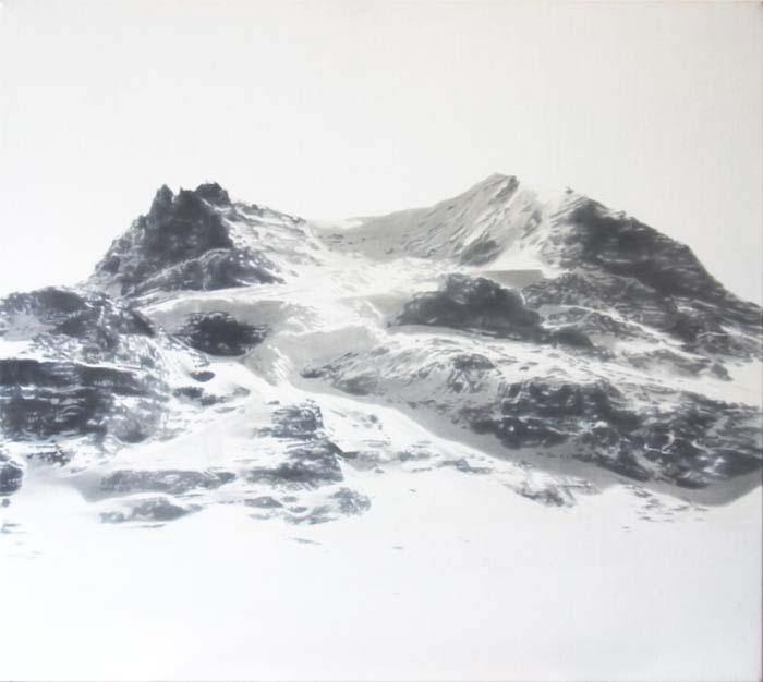 shadow mountain by Sophy Reynolds - paintings - Tasmanian artist