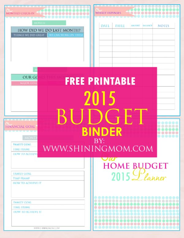 85 best Organize my finances images on Pinterest Budget binder - free printable budget planner