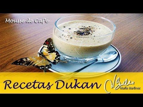 Mousse Dukan de café, de Ferwer (fase Ataque) / Dukan Diet Coffee Mousse