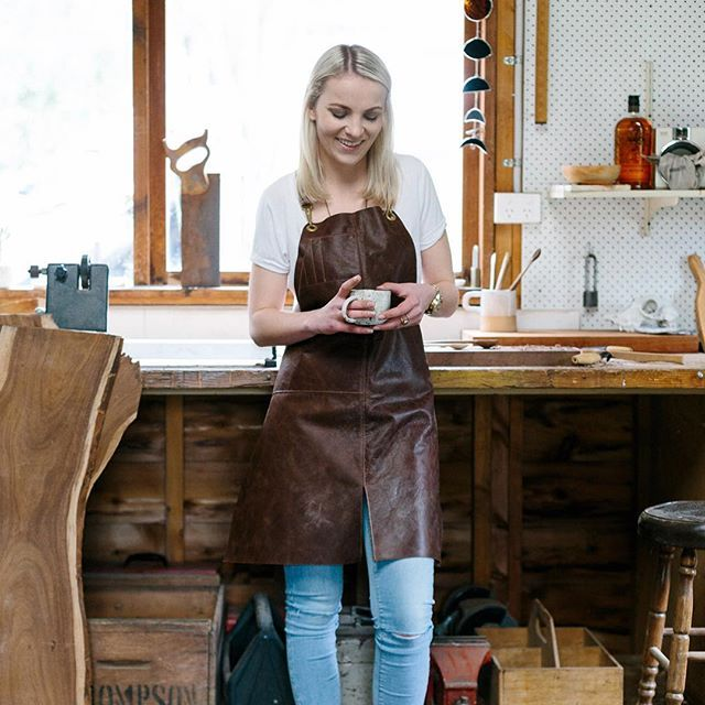 Inside our new September issue we showcase the incredible talent of @erinmalloy Handcrafting utilitarian woodwares from recycled timbers woodworker Erin adds her own individuality to her craft. Photography: @marniehawson  www.winkelenmagazine.com Check this out on Instagram.com