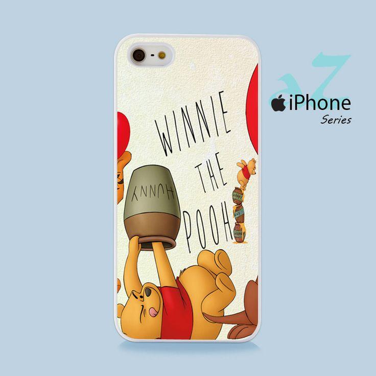 Winnie The Pooh Hunny Phone Case | Apple iPhone 4/4s 5/5s 5c 6/6s 6/6s Plus Samsung Galaxy S3 S4 S5 S6 S6 Edge S7 S7 Edge Samsung Galaxy Note 3 4 5 Hard Case