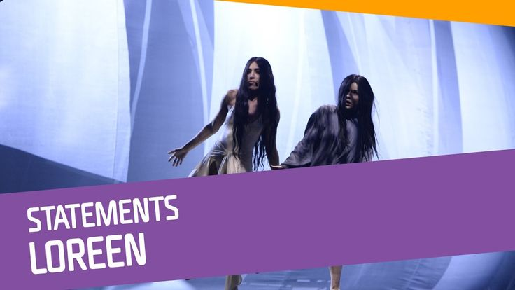 Loreen–Statements.  Why this song make me cry??