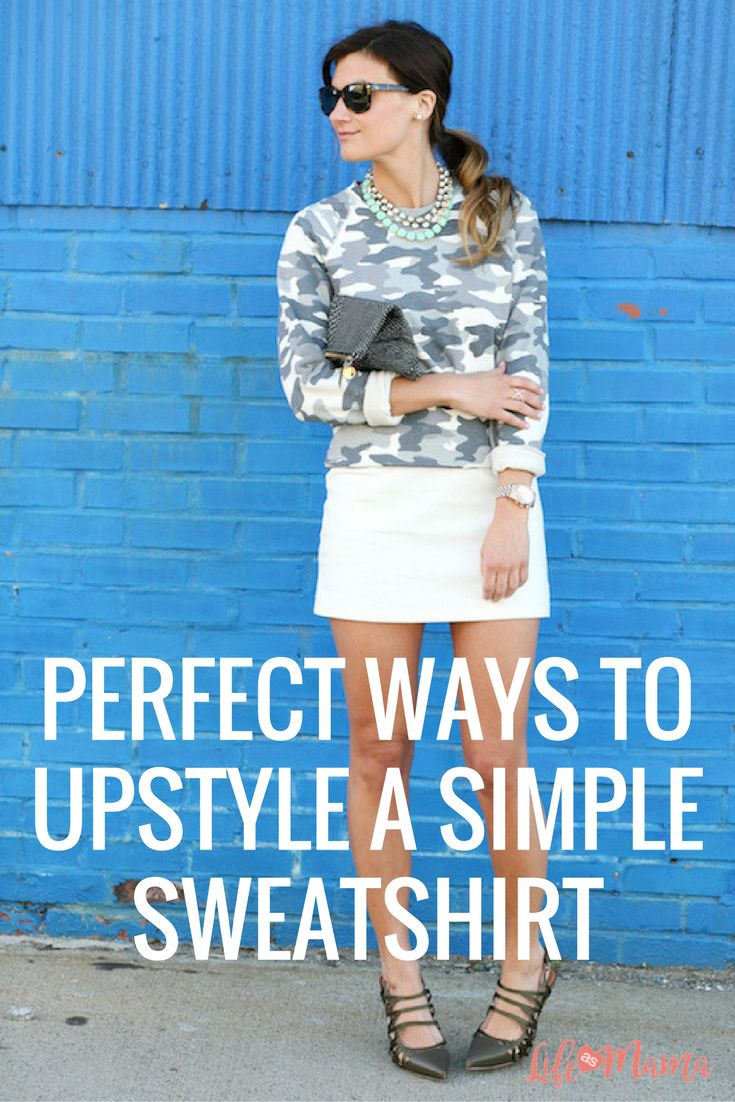 Whether your sweatshirts are fronted by cute cartoon character or glow neon pink, these tips will help you turn the simple fashion items into fashion statements.