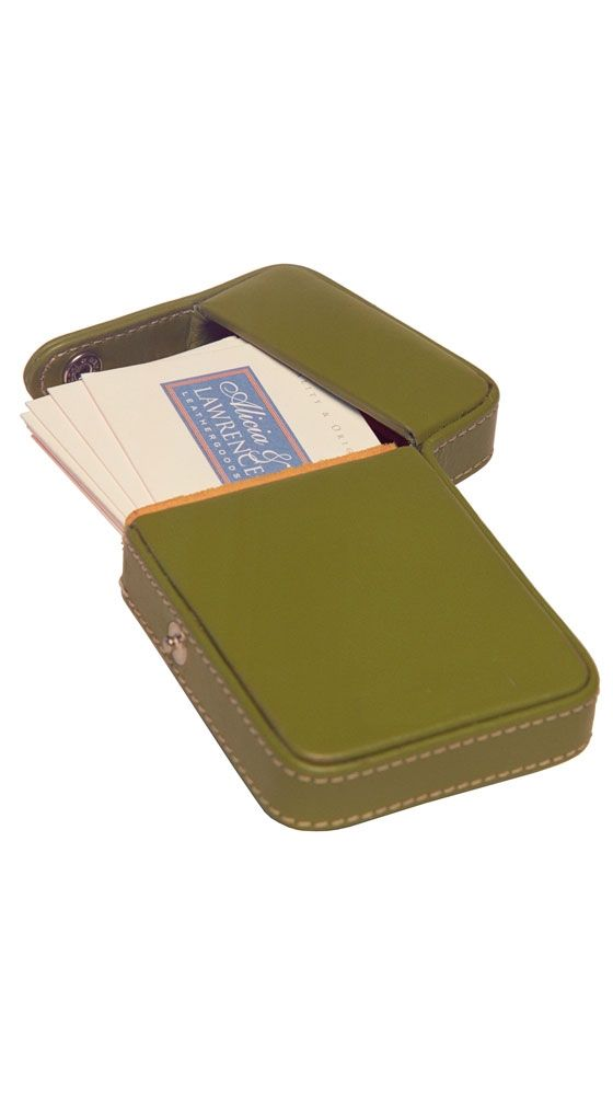Business Card Flip Top Case