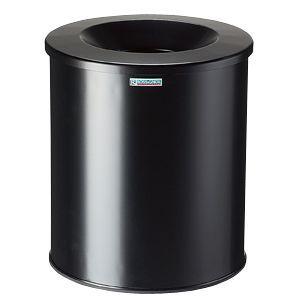 Rossignol Papierkorb selbstlöschend NEO schwarz 30 Liter