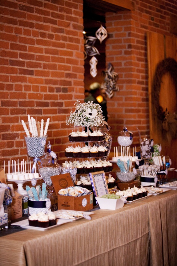 Winter Wedding Sweets Table Http Networkedblogs Udctp Photo By