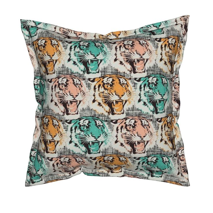 Tiger pastell Pillow by susiprint | Roostery Home Decor